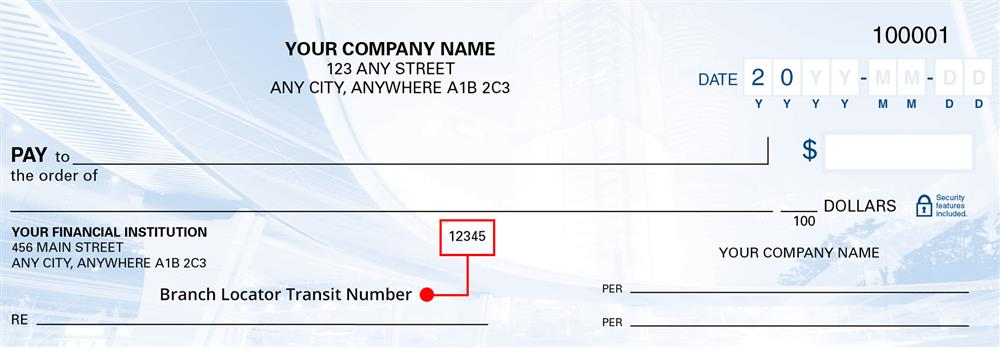 This is a 5 digit number fround to the right of the branch address and identifies the branch where your account is held. This number may be different from the branch number at the bottom of your cheque.