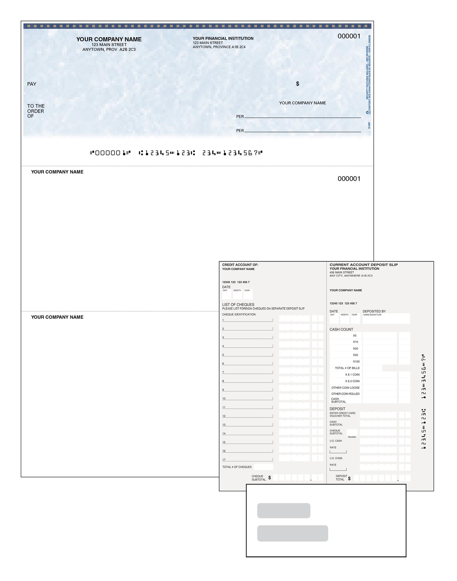 Voucher Cheque Starter Kit
