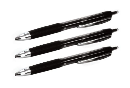 Ensemble de 3 stylos gel uni-ball® 207